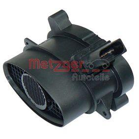 Sistema Eléctrico del Motor BMW X5 (E70) 3.0 d de Año 02.2007 235 CV: Medidor de la masa de aire (0891049) para de METZGER