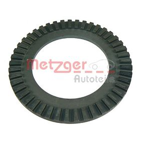 METZGER Sensorring, ABS 0900001 für AUDI 100 (44, 44Q, C3) 1.8 ab Baujahr 02.1986, 88 PS