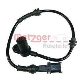 Sensor, Raddrehzahl mit OEM-Nummer 9115 064