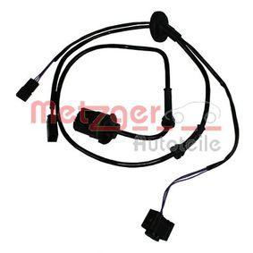 Sensoren VW PASSAT Variant (3B6) 1.9 TDI 130 PS ab 11.2000 METZGER Sensor, Raddrehzahl (0900082) für