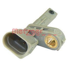 METZGER Sensor, Raddrehzahl 0900098 für AUDI Q7 (4L) 3.0 TDI ab Baujahr 11.2007, 240 PS