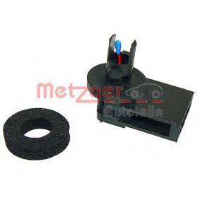 METZGER Sensor, Innenraumtemperatur 0901006 für AUDI A4 (8D2, B5) 1.9 TDI ab Baujahr 03.2000, 116 PS
