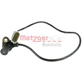 METZGER Impulsgeber, Kurbelwelle 0902022 für AUDI A4 Avant (8E5, B6) 3.0 quattro ab Baujahr 09.2001, 220 PS