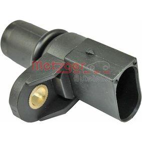 Sensor, Nockenwellenposition Pol-Anzahl: 3-polig mit OEM-Nummer 12.14.1.435.351