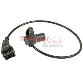 Sensor, posición arbol de levas Número de conexiones: 3 con OEM número 1214 7 539 165