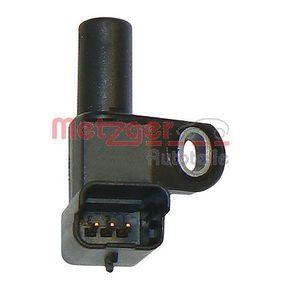 Moottorielektroniikka FIAT DUCATO Umpikori (244) 2.0 JTD 84 HV Lähettäjä (keneltä) Vuosi 04.2002: Tunnistin, nokka-akselin ajoitus (0903061) Varten päälle METZGER