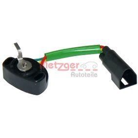 METZGER Sensor, Drosselklappenstellung 0904013 für FORD ESCORT VI Stufenheck (GAL) 1.4 ab Baujahr 08.1993, 75 PS