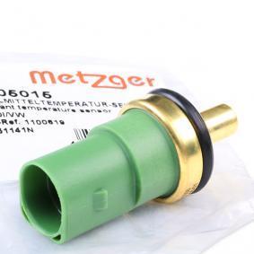 Kühlmitteltemperatursensor VW PASSAT Variant (3B6) 1.9 TDI 130 PS ab 11.2000 METZGER Kühlmitteltemperatur-Sensor (0905015) für