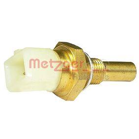 METZGER Kühlmitteltemperatur-Sensor 0905037 für AUDI 80 (8C, B4) 2.8 quattro ab Baujahr 09.1991, 174 PS