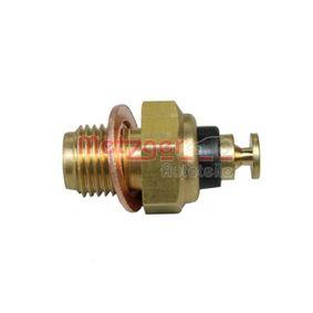 METZGER Sensor, Kühlmitteltemperatur 0905136 für AUDI 80 (81, 85, B2) 1.8 GTE quattro (85Q) ab Baujahr 03.1985, 110 PS