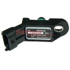 Sensore, Pressione collettore d'aspirazione N° poli: 3a... poli con OEM Numero 1859079J61000