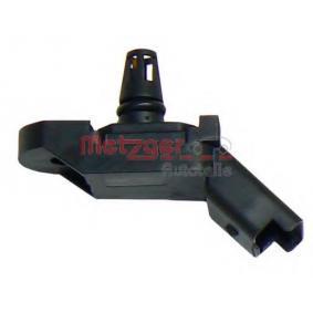 METZGER Sensor, Saugrohrdruck 0905298 für PEUGEOT 307 SW (3H) 2.0 16V ab Baujahr 03.2005, 140 PS
