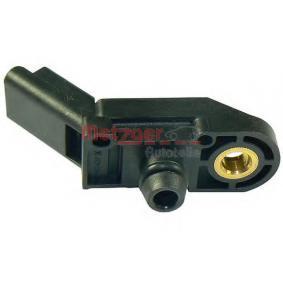 METZGER Sensor, Saugrohrdruck 0905306 für PEUGEOT 307 SW (3H) 2.0 16V ab Baujahr 03.2005, 140 PS