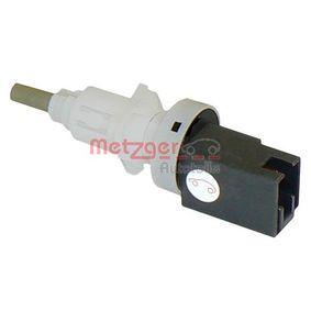 Switch, clutch control (cruise control) 0911010 PUNTO (188) 1.2 16V 80 MY 2000