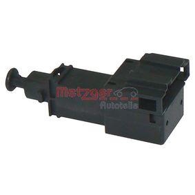 Interrupteur et Régulateur VW LUPO (6X1, 6E1) 1.4 TDI de Année 01.1999 75 CH: Interrupteur des feux de freins (0911066) pour des METZGER