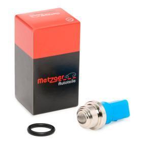 METZGER Temperaturschalter, Kühlerlüfter 0915042 für AUDI A6 (4B2, C5) 2.4 ab Baujahr 07.1998, 136 PS