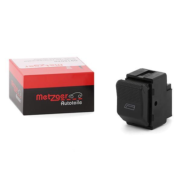 Interruptor, elevalunas METZGER 0916070 conocimiento experto