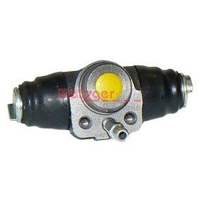 Radbremszylinder Bohrung-Ø: 19,05mm mit OEM-Nummer 1H0 611 053