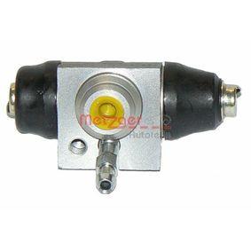 Radbremszylinder Bohrung-Ø: 14,29mm mit OEM-Nummer 1H0.611.053B