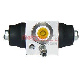 Radbremszylinder Bohrung-Ø: 19,05mm mit OEM-Nummer 6Q0 611 053B