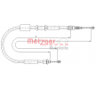 OEM Cable, parking brake METZGER 1281P4