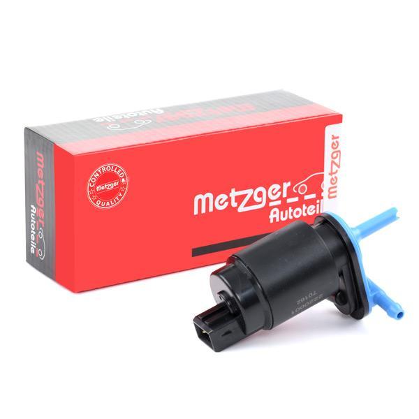 Windscreen Washer Pump METZGER 2220001 expert knowledge
