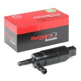 METZGER Waschwasserpumpe, Scheinwerferreinigung 2220023 für AUDI A4 Cabriolet (8H7, B6, 8HE, B7) 3.2 FSI ab Baujahr 01.2006, 255 PS