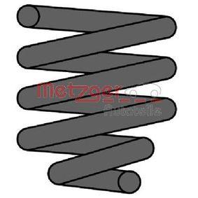 METZGER Fahrwerksfeder 2240128 für AUDI 100 (44, 44Q, C3) 1.8 ab Baujahr 02.1986, 88 PS