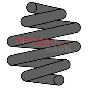 METZGER Fahrwerksfeder 2240615 für AUDI A4 Cabriolet (8H7, B6, 8HE, B7) 3.2 FSI ab Baujahr 01.2006, 255 PS