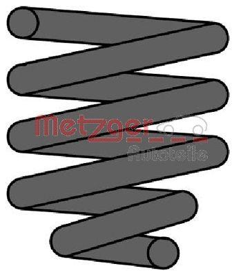 METZGER  2240652 Coil Spring Length: 303mm, Length: 303mm, Length: 303mm, Ø: 121mm, Ø: 121mm, Ø: 121mm