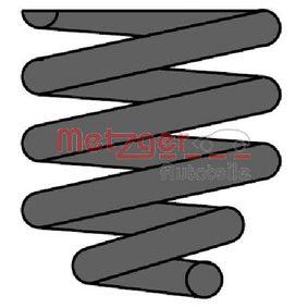 METZGER  2241764 Coil Spring Length: 420mm, Ø: 124mm
