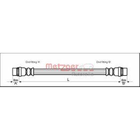 Bremsschlauch 4114765 Scénic 1 (JA0/1_, FA0_) 1.8 16V Bj 2002