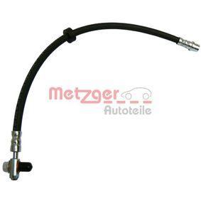 Bremsschlauch Länge: 442mm, Gewindemaß 2: F10 x 1 mit OEM-Nummer 1J0 611 701 L