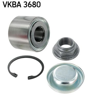 SKF Juego de cojinete de rueda VKBA 3680