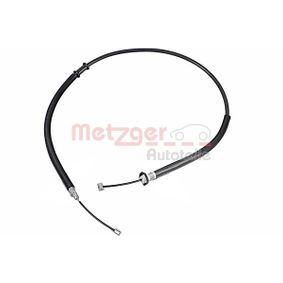 Cable, parking brake 631.20 PUNTO (188) 1.2 16V 80 MY 2006