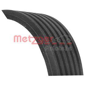 V-Ribbed Belts Length: 1125mm, Number of ribs: 6 with OEM Number 7700 114 730