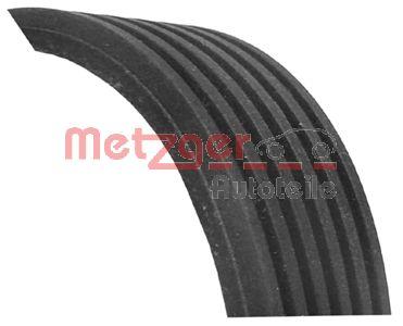 METZGER  6PK1205 Keilrippenriemen Länge: 1205mm, Rippenanzahl: 6