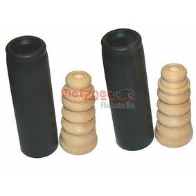 Staubschutzsatz, Stoßdämpfer mit OEM-Nummer 1J0512131B+