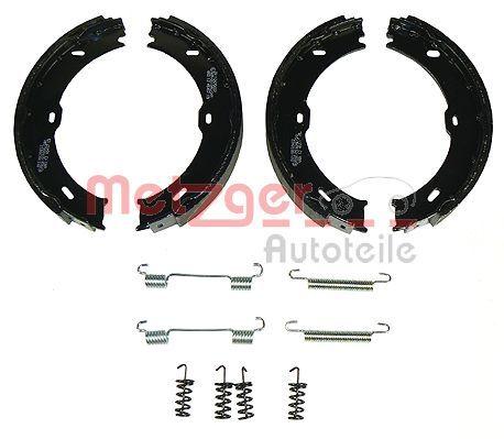 Brake Shoe Set, parking brake KR 213 METZGER KR 213 original quality
