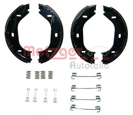 Brake Shoe Set, parking brake KR 219 METZGER KR 219 original quality