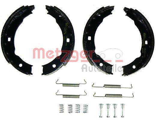 Brake Shoe Set, parking brake KR 665 METZGER KR 665 original quality