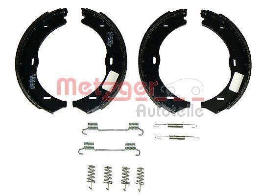 Brake Shoe Set, parking brake KR 989 METZGER MG989 original quality
