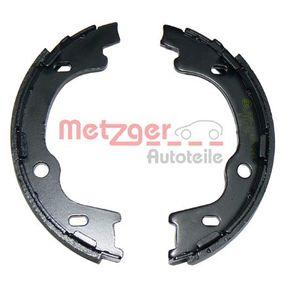 METZGER Bremsbackensatz, Feststellbremse MG 106 mit OEM-Nummer 583501HA00