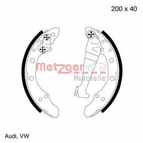 Bremsbackensatz Breite: 40,0mm, Dicke/Stärke: 5,0mm mit OEM-Nummer 321698545