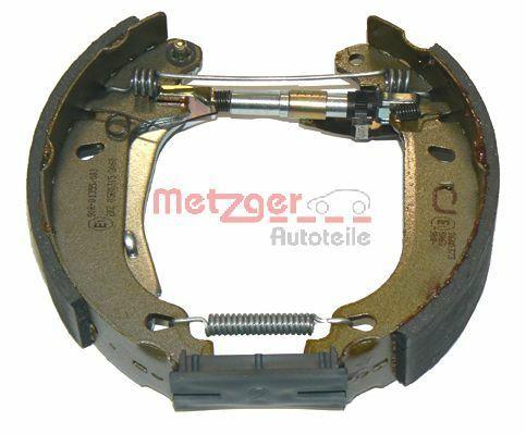 Bremsensatz, Trommelbremse METZGER MG 424V Bewertung