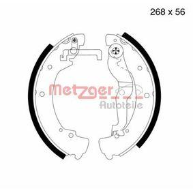 Bremsbackensatz Breite: 56,0mm, Dicke/Stärke: 6,0mm mit OEM-Nummer 701 609 531 E