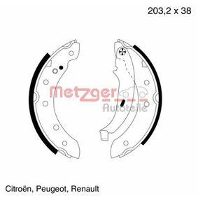 Bremsbackensatz Breite: 38mm mit OEM-Nummer 4241J1