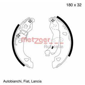 Bremsbackensatz Breite: 32,0mm, Dicke/Stärke: 4,5mm mit OEM-Nummer 9945975