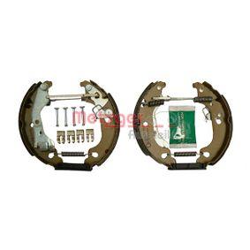 Brake Set, drum brakes MG 737V PUNTO (188) 1.2 16V 80 MY 2002