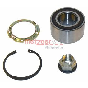 Radlagersatz Ø: 72mm, Innendurchmesser: 37mm mit OEM-Nummer 7701207677